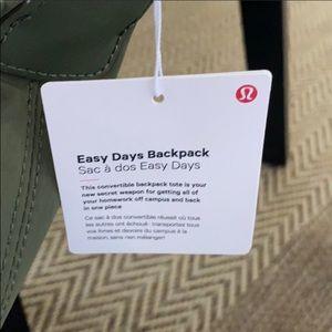 lululemon athletica Bags - LULULEMON EASY DAYS BACKPACK